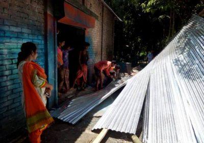 ফরিদপুরে সরকারি জায়গায় নির্মাণ করা আ.লীগ কার্যালয় উচ্ছেদ