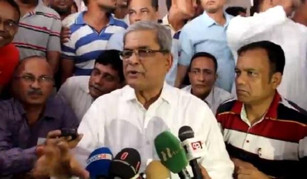 'রোহিঙ্গা ইস্যু নিয়ে বিএনপি রাজনীতি করছে না'