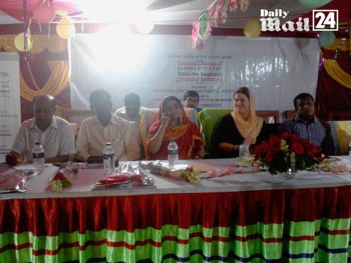 শ্যামনগরে ফিষ্টুলা রোগ সম্পর্কে বালিকাদের সচেতনতা বৃদ্ধিতে কর্মশালা
