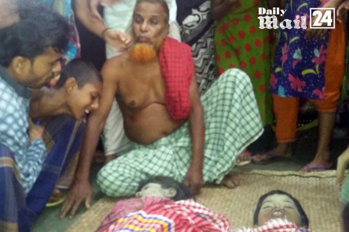 ফরিদপুরের চরভদ্রাসনে পানিতে ডুবে দুই বোনের মৃত্যু