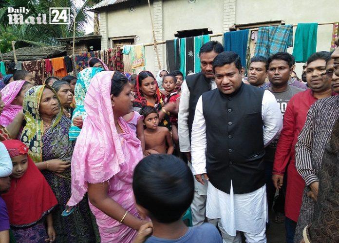 ফরিদপুরের আলফাডাঙ্গায় কৃষক লীগ নেতা দোলনের গণসংযোগ