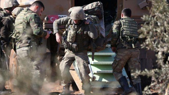 কুর্দি বাহিনীর পাল্টা আক্রমণেতুরস্কেরসাত সেনা নিহত