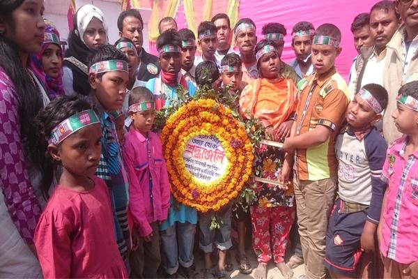 দিনাজপুরে যথাযোগ্য মর্যাদায়মাতৃভাষা দিবস পালিত