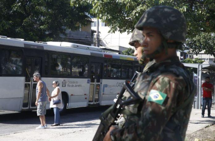 ব্রাজিলসেনাবাহিনীর অধীনেরিও ডি জেনিরো