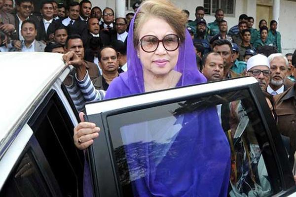 'রবিবার খালেদাকে আদালতে হাজির করা হবে না'