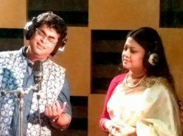 কনক চাঁপার সাথেদ্বৈত সঙ্গীতেবিপ্লব সাহা