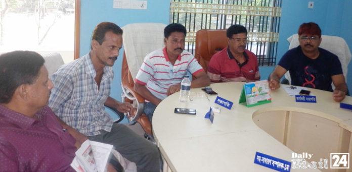 ঝিনাইদহে জেলা বাস-মিনিবাস শ্রমিক ইউনিয়নের মাসিক সভা অনুষ্ঠিত
