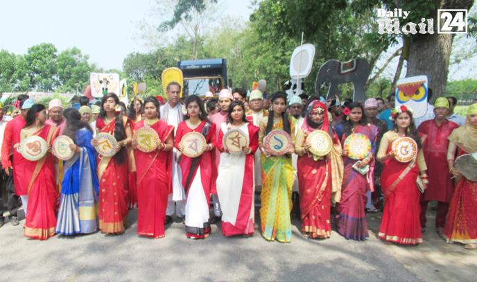 ঝিনাইদহ বর্নাঢ্য আয়োজনে প্রেসক্লাব ও 'সিও এনজিও'র বর্ষবরণ পালিত