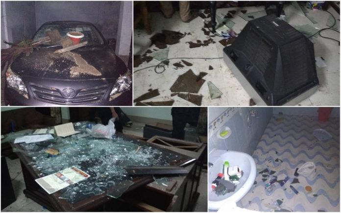 'ঢাকা বিশ্ববিদ্যালয়ের ভিসির বাসার আক্রমণকারীরা পেশাদার'