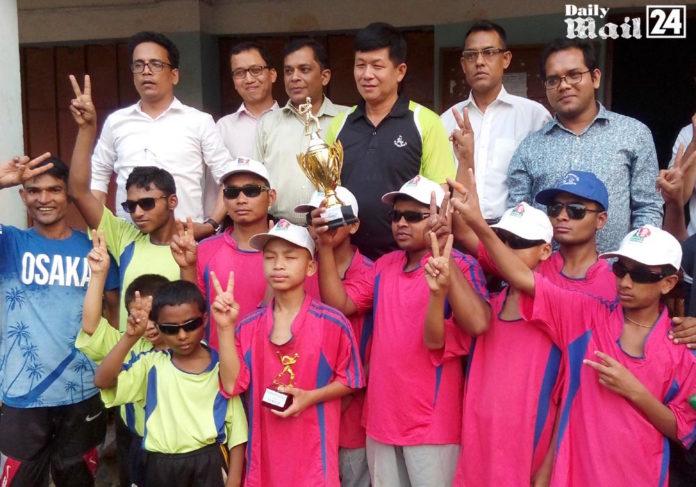 বান্দরবানে দৃষ্টিপ্রতিবন্ধীদের ক্রিকেট প্রতিযোগিতা অনুষ্ঠিত