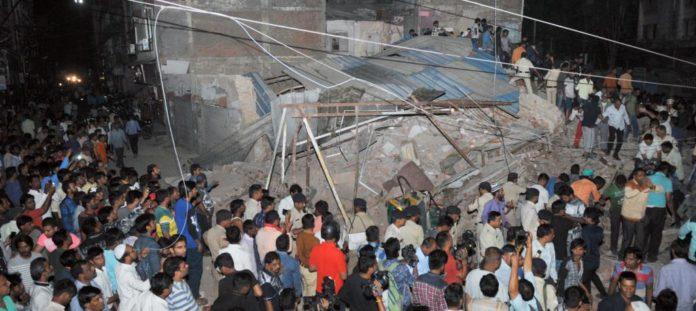 ভারতে ভবন ধ্বসে ১০ জনের মৃত্যু