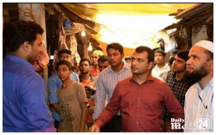 ফেনীতে বাজার মনিটরিং,তিনজনের ৬২ হাজার টাকা জরিমানা