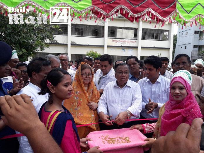 দিনাজপুর খানসামায় তিন দিন ব্যাপী ফলদ বৃক্ষ মেলার উদ্বোধন