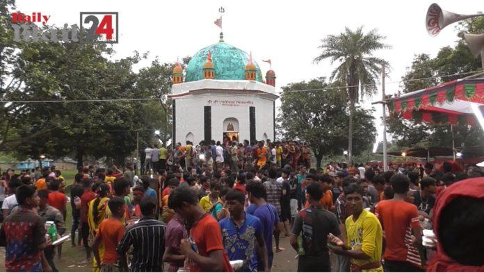 দিনাজপুরে অনুষ্ঠিত হলো তিনদিন ব্যাপী মহাস্নান যাত্রা
