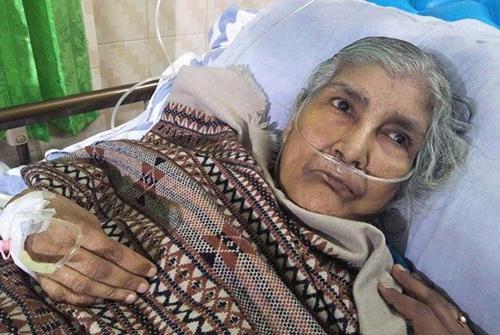 বীরাঙ্গনা রমা চৌধুরীরশারীরিক অবস্থা আরও অবনতি