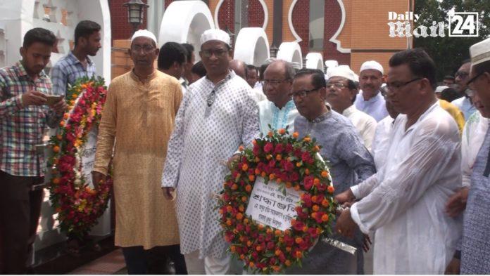 দিনাজপুরে বঙ্গবন্ধুর ঘনিষ্ঠ সহচর এম আব্দুর রহিমের ২য় মৃত্যুবার্ষিকী পালন
