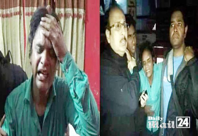ঝিনাইদহে ভাংচুরসহ দুই সাংবাদিক আহত হওয়ার ঘটনায় প্রতিবাদ সভা