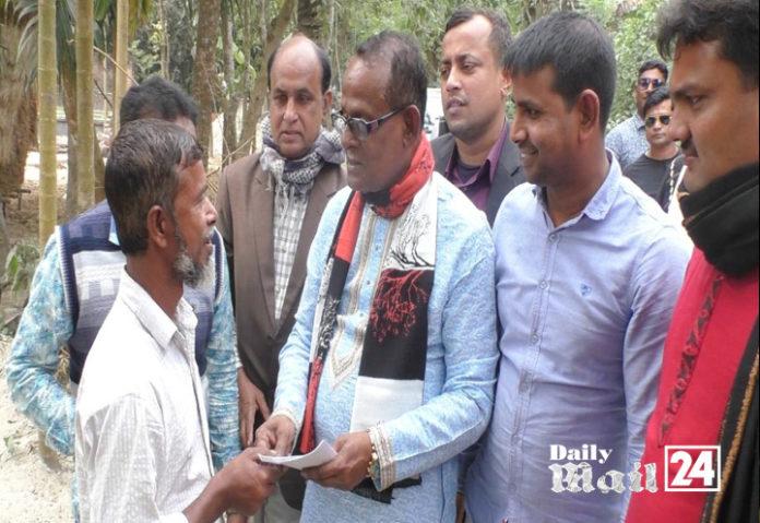 ঝিনাইদহ-১ আসনে আওয়ামী লীগ মনোনীত প্রার্থীর নির্বাচনী গণসংযোগ