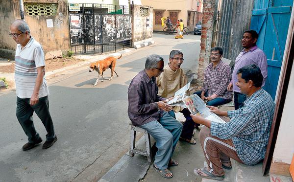 বাংলার নির্বাচনী উত্তাপ ছড়িয়েছে সুদূর কলকাতায়
