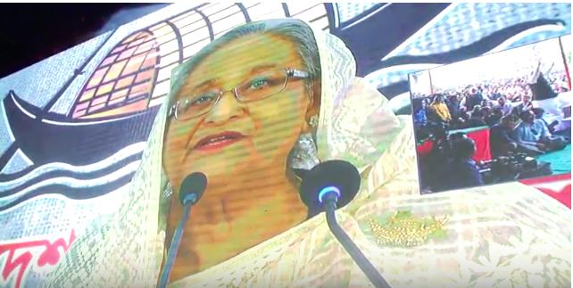 'ঢাকা থেকে আপনি যে আমাদের সঙ্গে কথা বলছেন এটাই ডিজিটাল বাংলাদেশ'