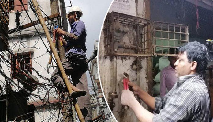 চকবাজারে কেমিক্যাল গোডাউন উচ্ছেদ অভিযানে বাধা