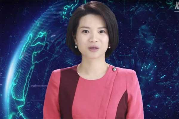 চীনে সংবাদ উপস্থাপিকা হিসেবে খবর পরছে রোবট