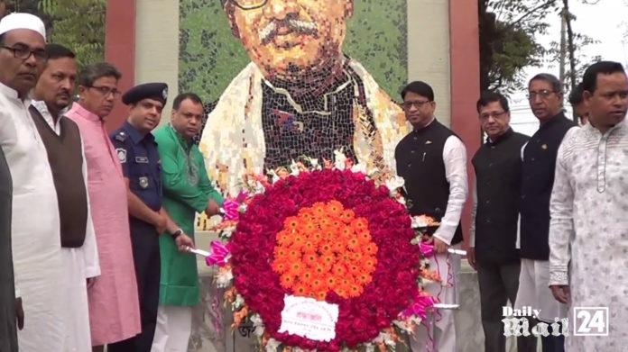 দিনাজপুরে স্বাধীনতা দিবস উপলক্ষে শহীদদের শ্রদ্ধাঞ্জলী ও কুচকাওয়াজ অনুষ্ঠিত