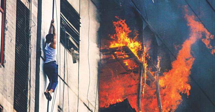এফআর টাওয়ারের ৮ম তলায় বৈদ্যুতিক শটসার্কিট থেকেই আগুনের সূত্রপাত