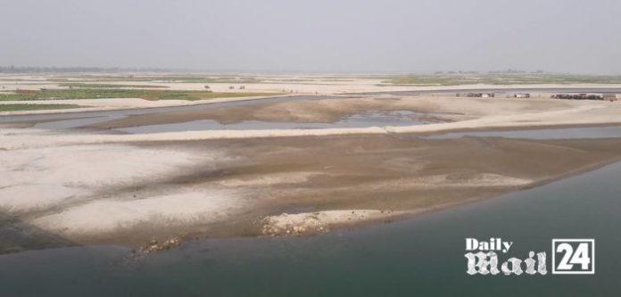 শুষ্ক মৌসুমে পানিশূন্য হয়ে পড়ছে কুড়িগ্রামের নদ-নদী