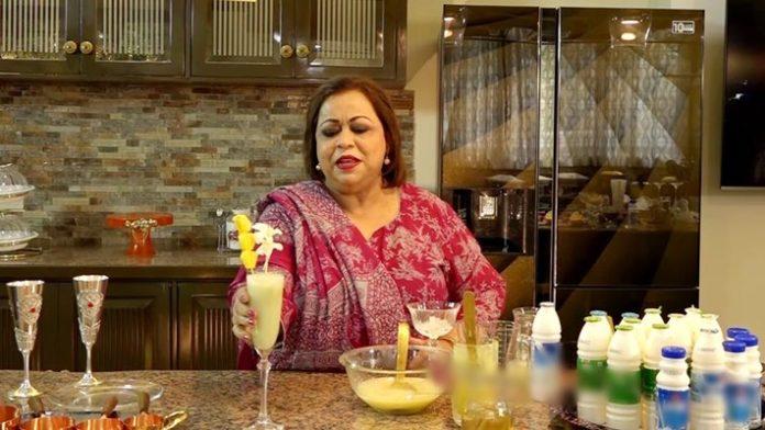 কেকা ফেরদৌসীর দুধ-আনারসের 'ভালোবাসার শরবত'!