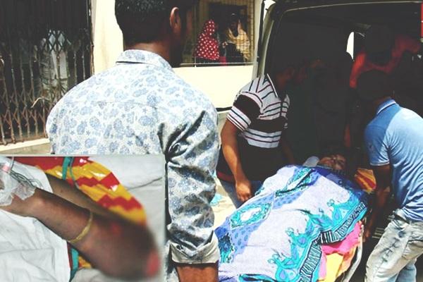 গৃহবধূকে কেরোসিন ঢেলে আগুনে পুড়িয়ে হত্যার চেষ্টা, ননদ আটক