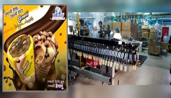নোংরা ফ্যাক্টরিতে আইসক্রিম তৈরি করে ইগলু, ৫ লাখ টাকা জরিমানা