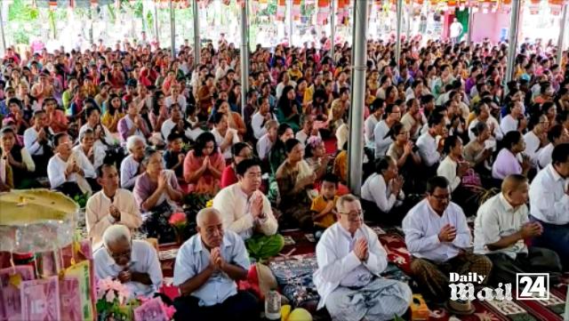 বান্দরবানে বৌদ্ধ ধর্মাবলম্বীদের বুদ্ধপূর্ণিমা পালিত