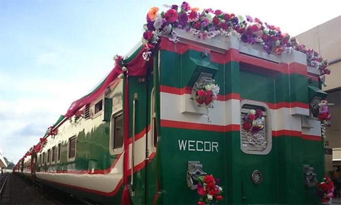 ঢাকা-বেনাপোল রুটের দ্রুতগামী ট্রেনের নামকরণ করলেন প্রধানমন্ত্রী