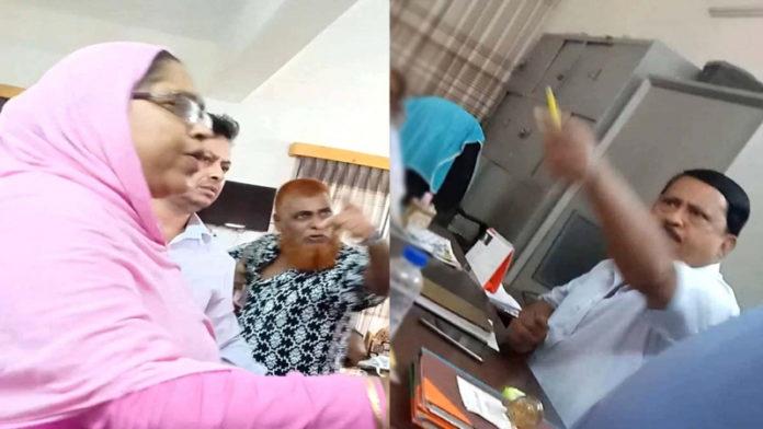 হিজাব পড়ে স্কুলে ঢোকায় ছাত্রিকে লাঞ্চিত করলেন শিক্ষক