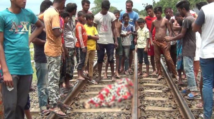 দিনাজপুরের হিলিতে ট্রেনে কাটা পড়ে অজ্ঞাত নারীর মৃত্যু