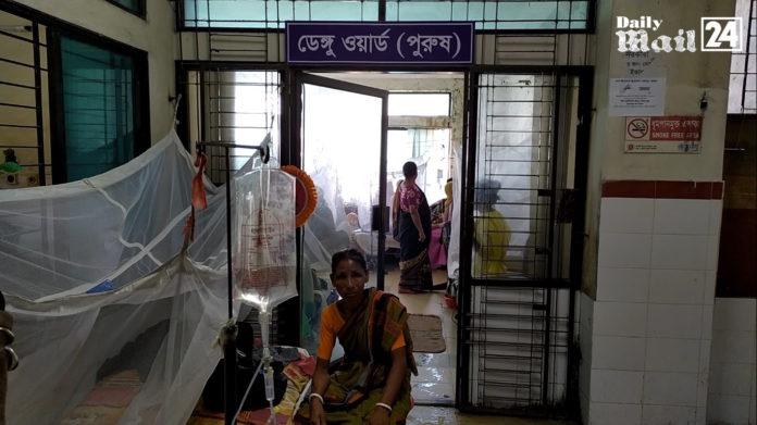 দিনাজপুরে ডেঙ্গু জ্বরে আক্রান্ত রোগির মৃত্যু, ভর্তি আরও ৪৭ জন