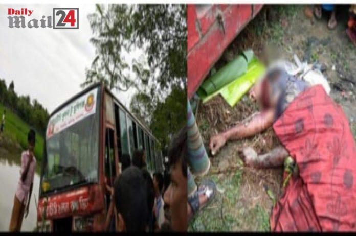 শ্যামনগরে সড়ক দূঘটনায় মোটর সাইকেল চালকের মৃত্যু, আহত দুই