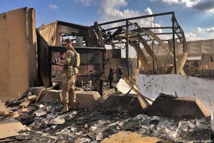 মার্কিন সামরিক ঘাঁটিতে ইরানের ক্ষেপণাস্ত্র হামলায় ৫০ সেনা আহত