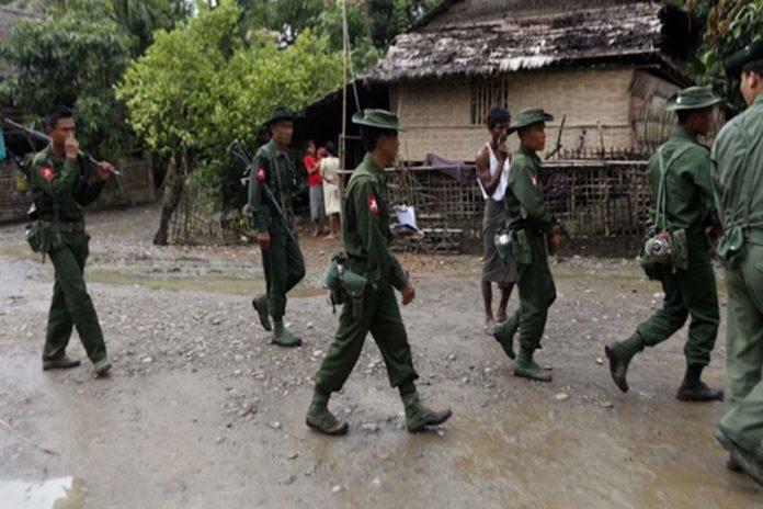 মিয়ানমার সেনাবাহিনীর ছোড়া শেলে অন্তঃসত্ত্বাসহ দুই নারী নিহত